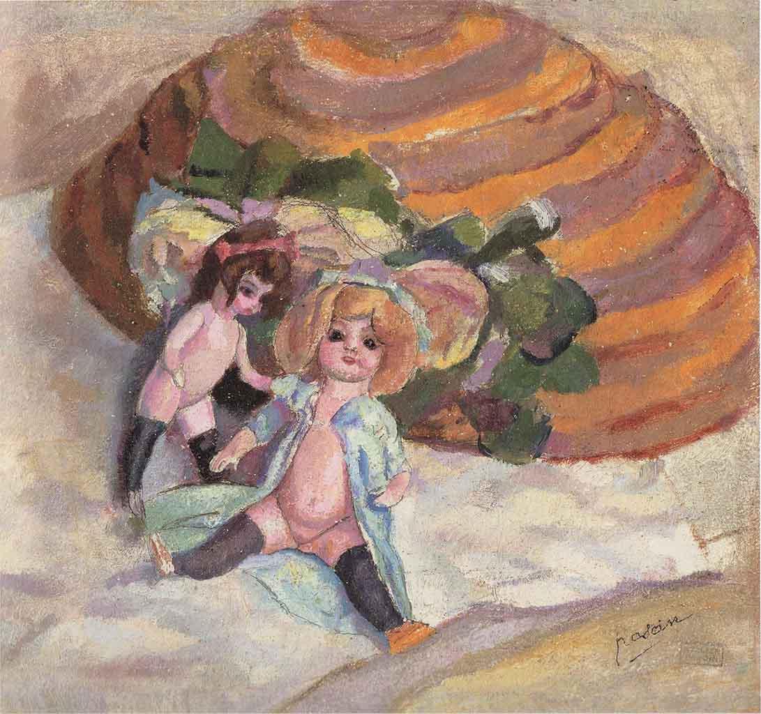 "Жюль Паскин (Jules Pascin) ""Dolls"""