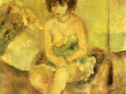 "Жюль Паскин (Jules Pascin) ""Portrait of Lucy Krohg"""