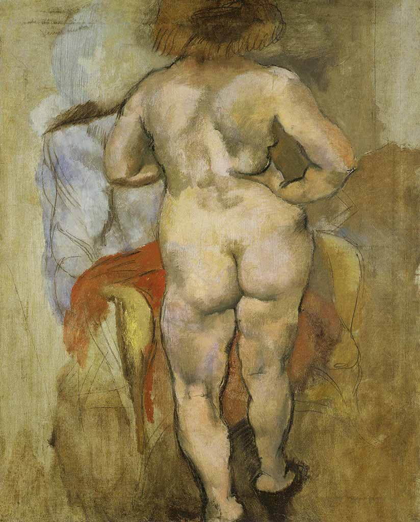 "Жюль Паскин (Jules Pascin) ""Back View of Venus"""