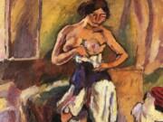 "Жюль Паскин (Jules Pascin) ""Femme au Corset"""