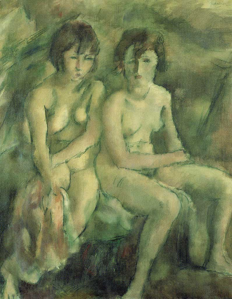 "Жюль Паскин (Jules Pascin) ""Two Swiss Girls"""