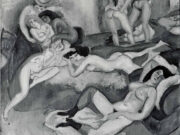 "Жюль Паскин (Jules Pascin) ""The Foolish Virgins"""
