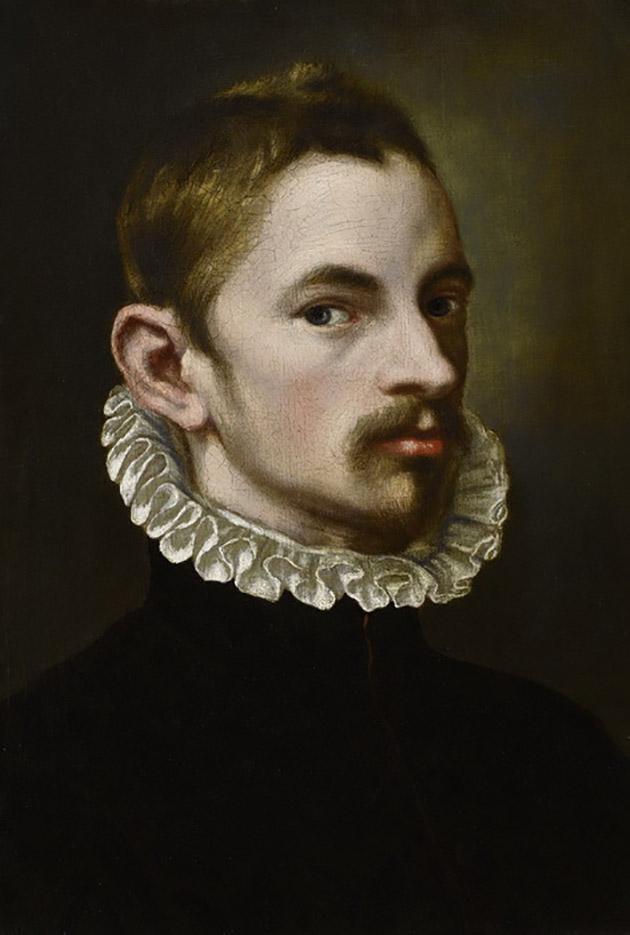 """Бартоломео Пассаротти (Bartolomeo Passerotti) """"Self-portrait"""""""