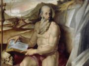 """Бартоломео Пассаротти (Bartolomeo Passerotti) """"San Girolamo"""""""