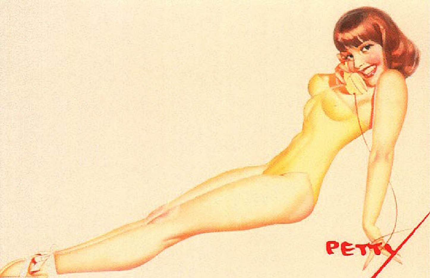 "Джордж Петти (George Petty) ""Pin Up – 26"""