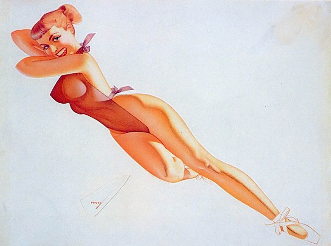 "Джордж Петти (George Petty) ""Pin Up – 30"""