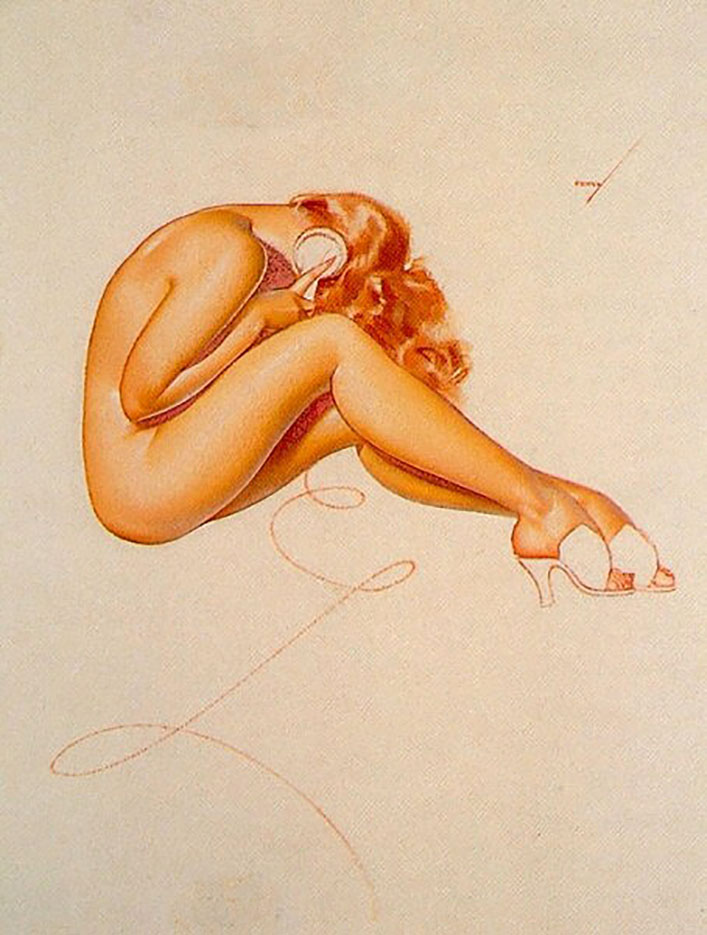"Джордж Петти (George Petty) ""Pin Up – 36"""