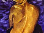 "Франсис Пикабиа (Francis Picabia) ""Nude from Back on a Background of the Sea"""