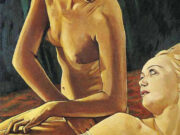 "Франсис Пикабиа (Francis Picabia) ""The brunette and blonde"""