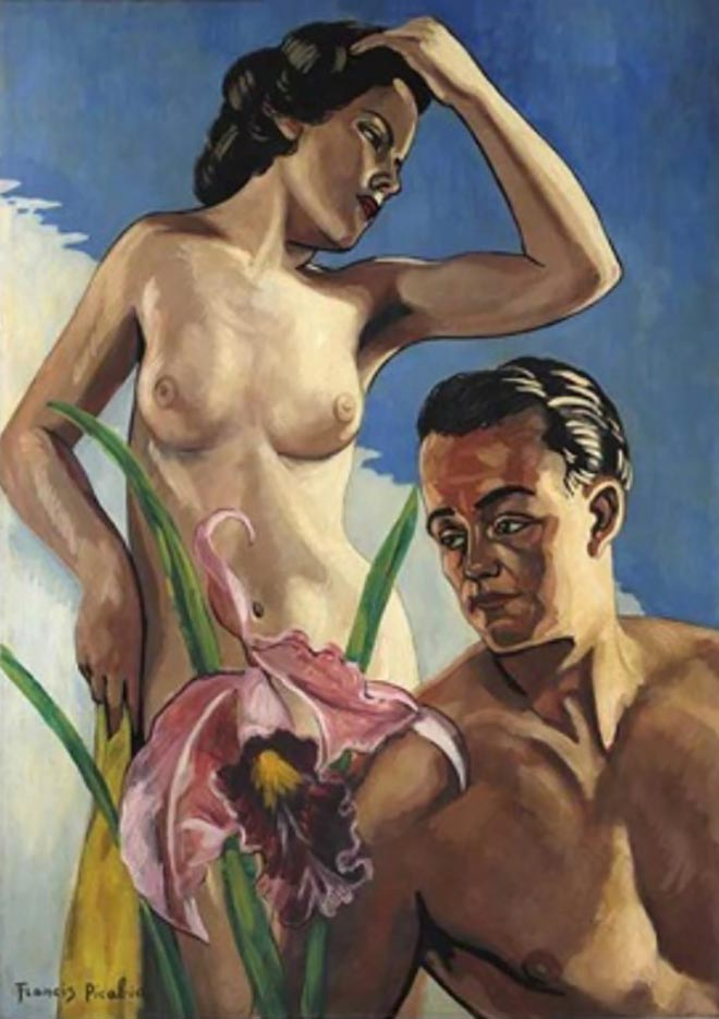 "Франсис Пикабиа (Francis Picabia) ""Adam et Eve - 3"""