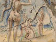"""Франсис Пикабиа (Francis Picabia) """"Baigneuses - 2"""""""