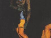 "Франсис Пикабиа (Francis Picabia) ""Femme adjustant son bas"""