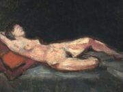 "Франсис Пикабиа (Francis Picabia) ""Nu allongé"""