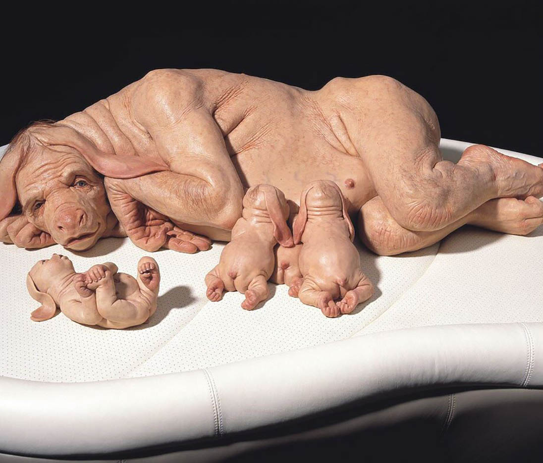 "Патриция Пиччинини (Patricia Piccinini) ""The Young Family"""