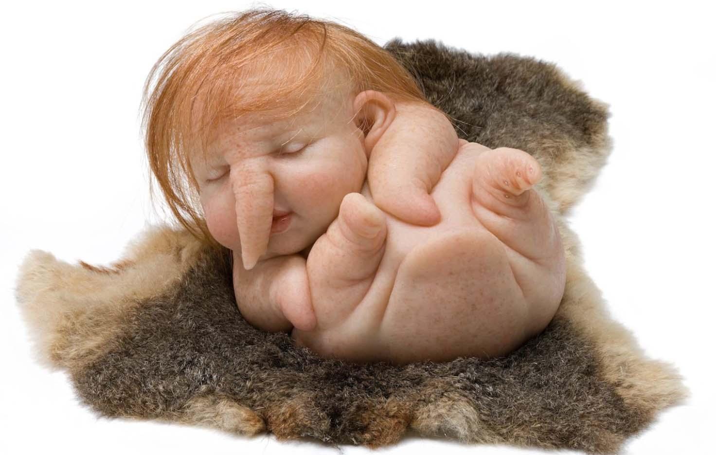 """Патриция Пиччинини (Patricia Piccinini) """"Newborn"""""""
