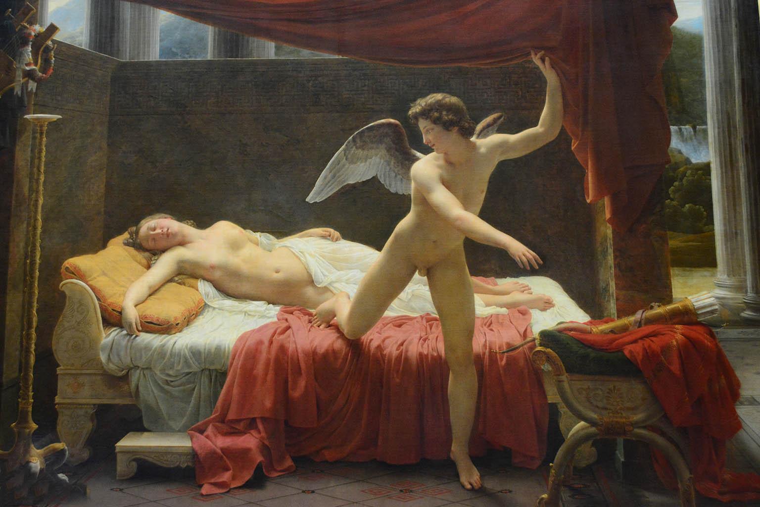 "Франсуа Эдуар Пико (François-Edouard Picot) ""Амур и Психея | Cupid and Psyche (L'Amour et Psyche)"""