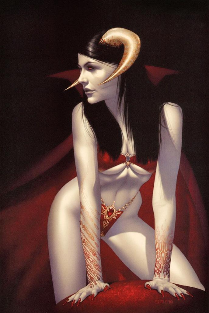 """Дрю Посада (Drew Posada) """"Vampyre"""""""