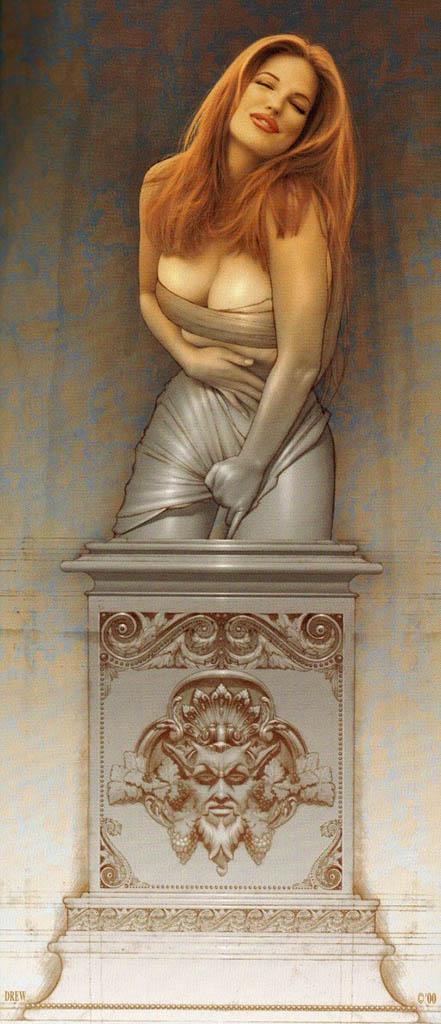 """Дрю Посада (Drew Posada) """"Statue"""""""