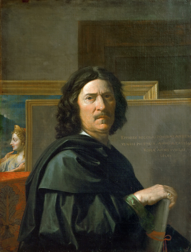 Никола Пуссен (Nicolas Poussin), Автопортрет