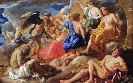 Никола Пуссен (Nicolas Poussin), Гелиос и Фаэтон с Сатурном и четырьмя Временами года