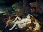 Никола Пуссен (Nicolas Poussin), Спящая Венера и пастухи