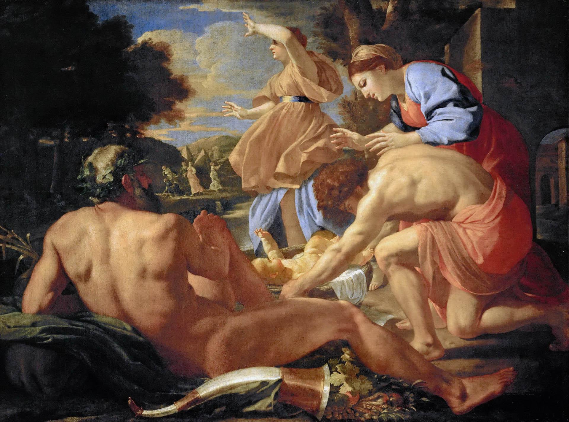 Никола Пуссен (Nicolas Poussin), Нахождение Моисея