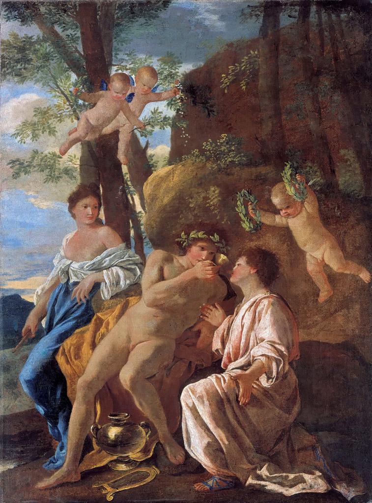 Никола Пуссен (Nicolas Poussin), Воодушевление Анакреона