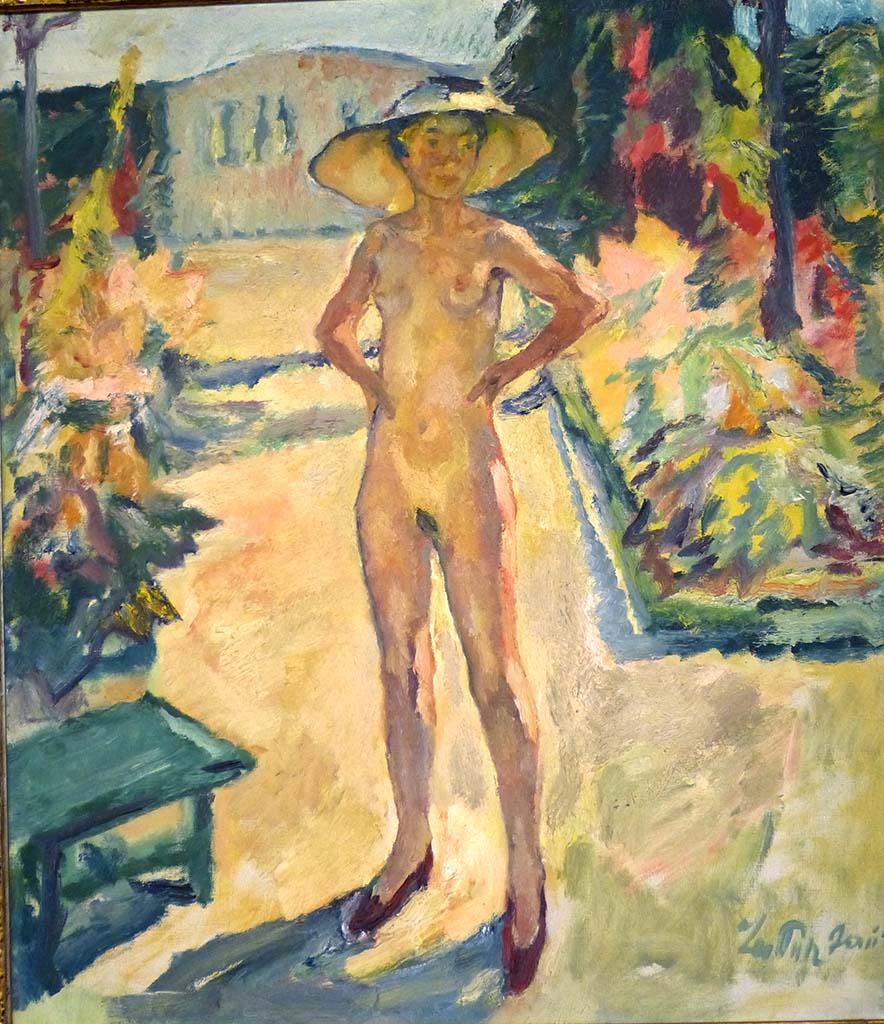 "Лео Путц (Leo Putz) ""Herrenchiemsee abbey 