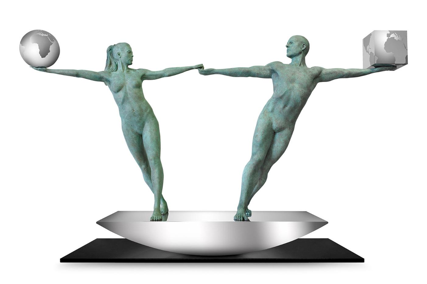 """Лоренцо Куинн (Lorenzo Quinn) """"Balancing Our Worlds"""""""