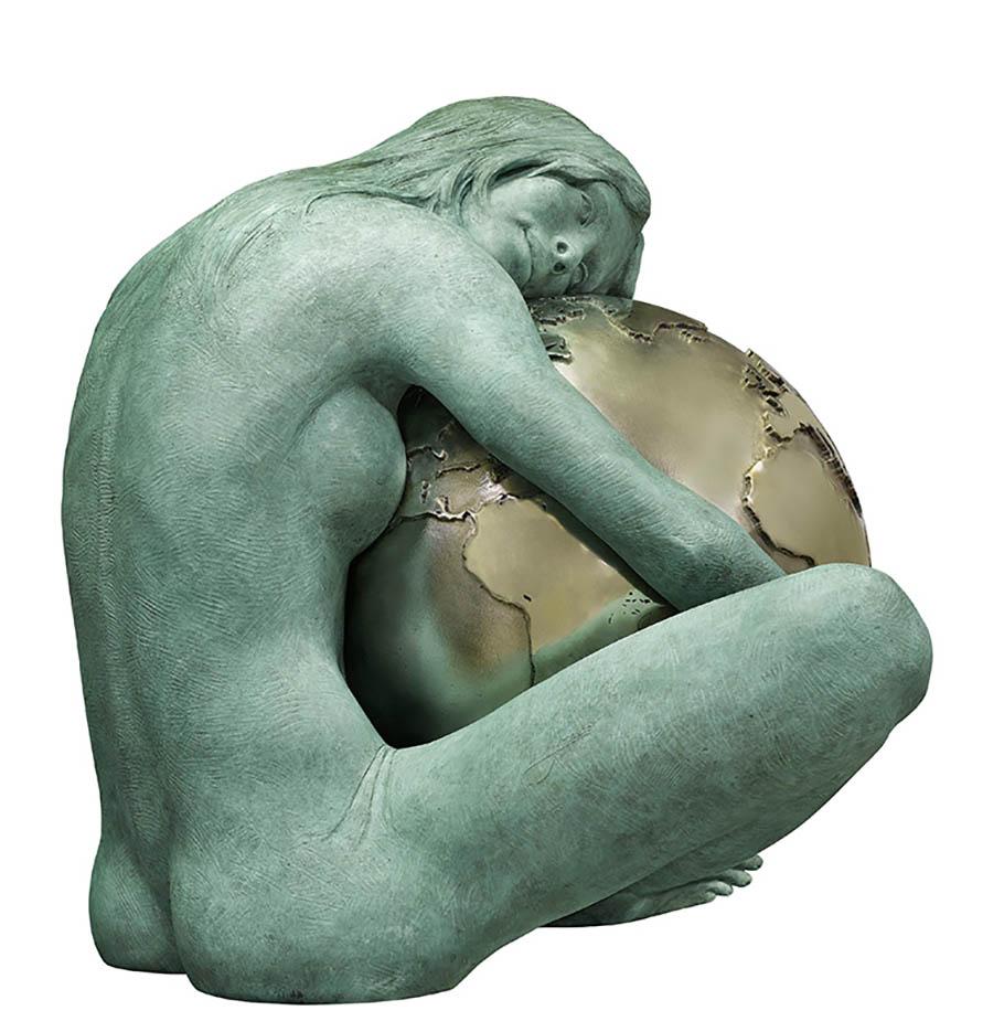 "Лоренцо Куинн (Lorenzo Quinn) ""Gaia"""