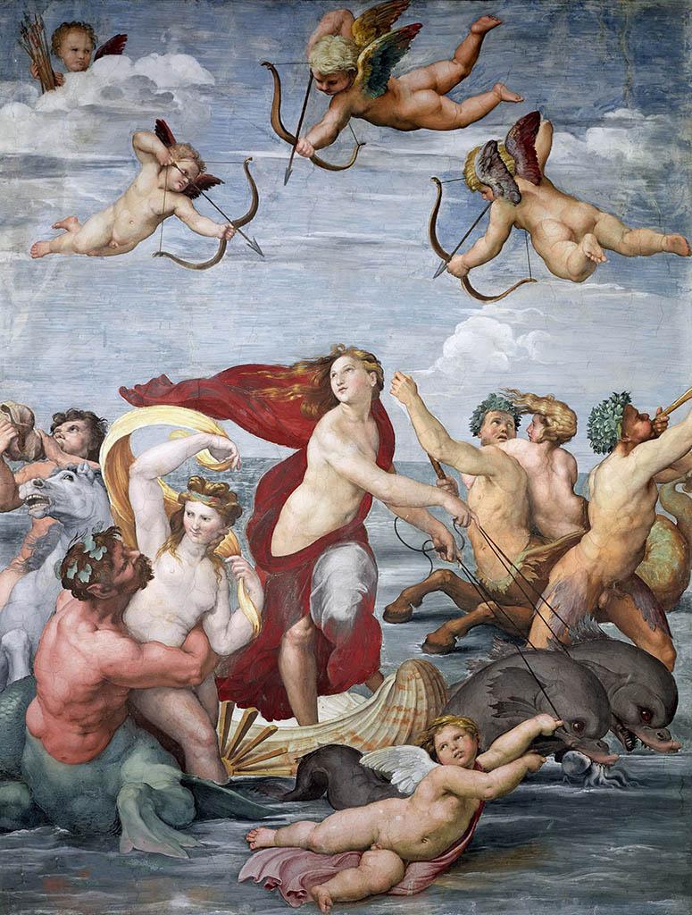"""Рафаэль Санти (Raphael, Raffaello Santi) """"Триумф Галатеи """""""