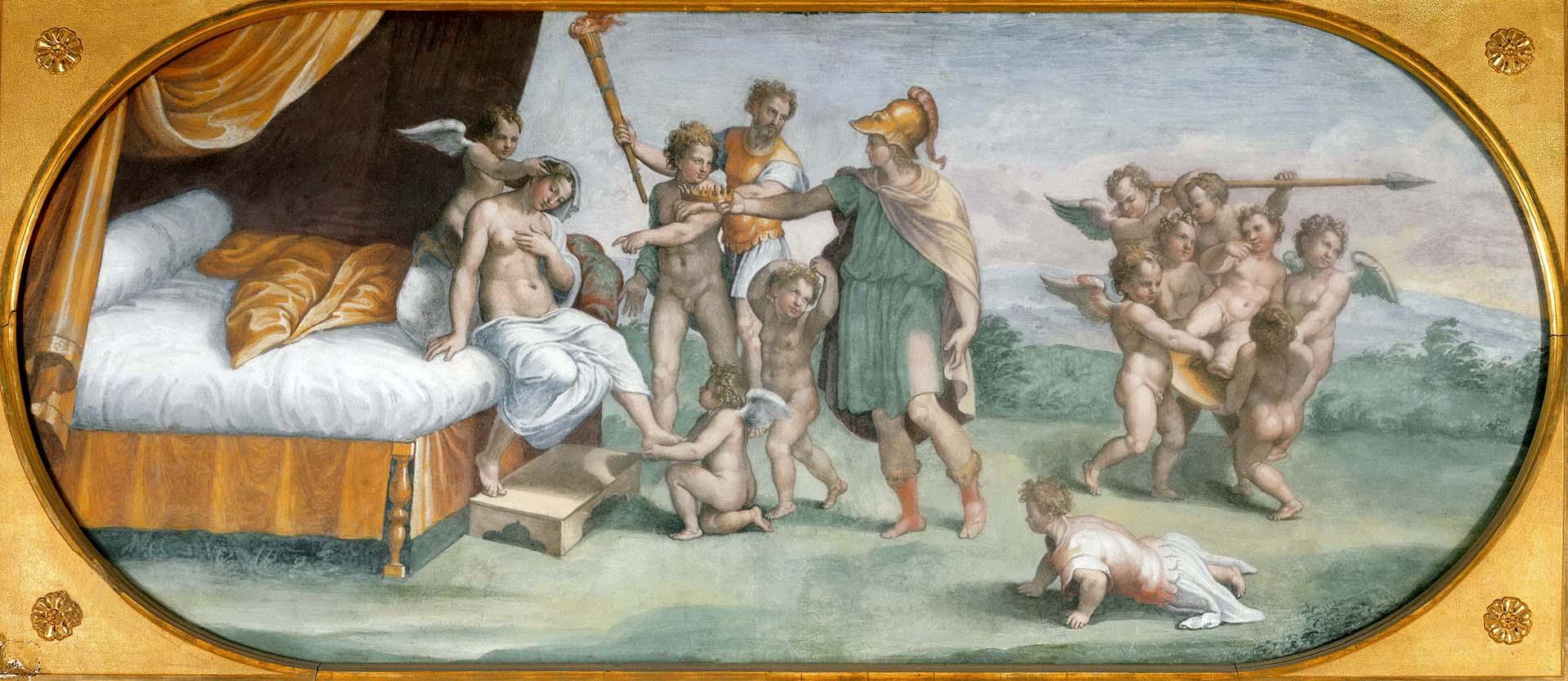 "Рафаэль Санти (Raphael, Raffaello Santi) ""Бракосочетание Александра и Роксаны"""