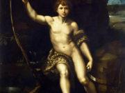 "Рафаэль Санти (Raphael, Raffaello Santi) ""Иоанн Креститель в пустоши"""