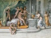 """Рафаэль Санти (Raphael, Raffaello Santi) """"Вертумн и Помона, получающие подношения"""""""