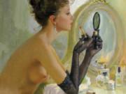 "Константин Разумов (Konstantin Razumov), ""Devant le miroir (2)"""