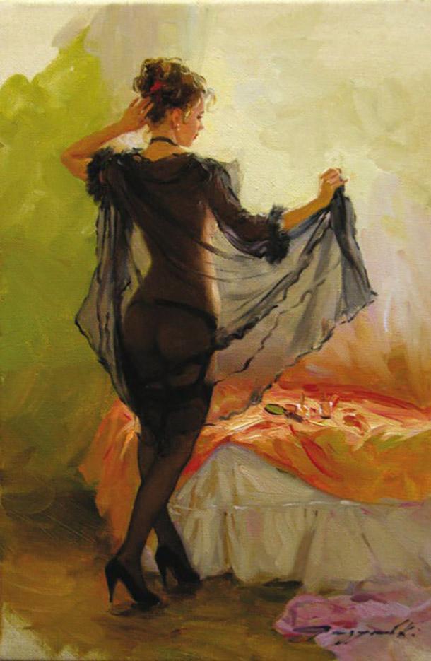 "Константин Разумов (Konstantin Razumov), ""Un instant d'intimite"""