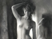"Висенте Ромеро Редондо (Vicente Romero Redondo), ""Erotic drawing - 1"""