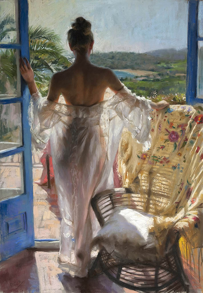 "Висенте Ромеро Редондо (Vicente Romero Redondo), ""Morning Glory"""