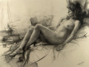 "Висенте Ромеро Редондо (Vicente Romero Redondo), ""Erotic drawing - 2"""