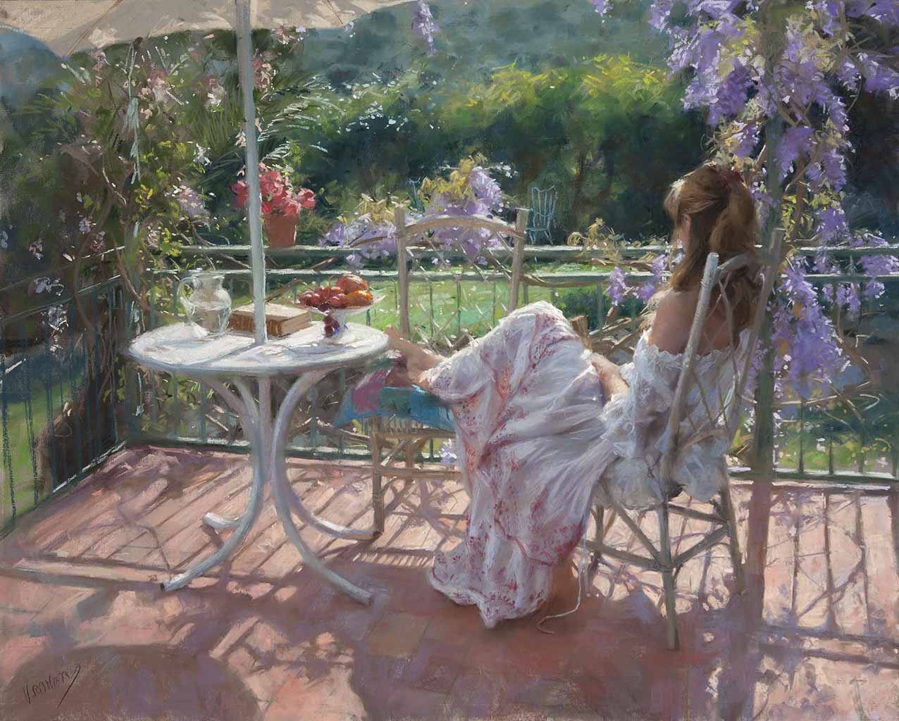 "Висенте Ромеро Редондо (Vicente Romero Redondo), ""The Countryside"""
