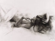 "Висенте Ромеро Редондо (Vicente Romero Redondo), ""Erotic drawing - 3"""