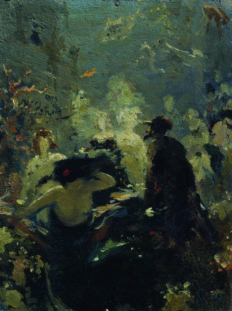 Илья Репин (Ilya Repin), Садко в подводном царстве