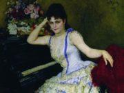Илья Репин (Ilya Repin), Портрет пианистки С.И.Ментер