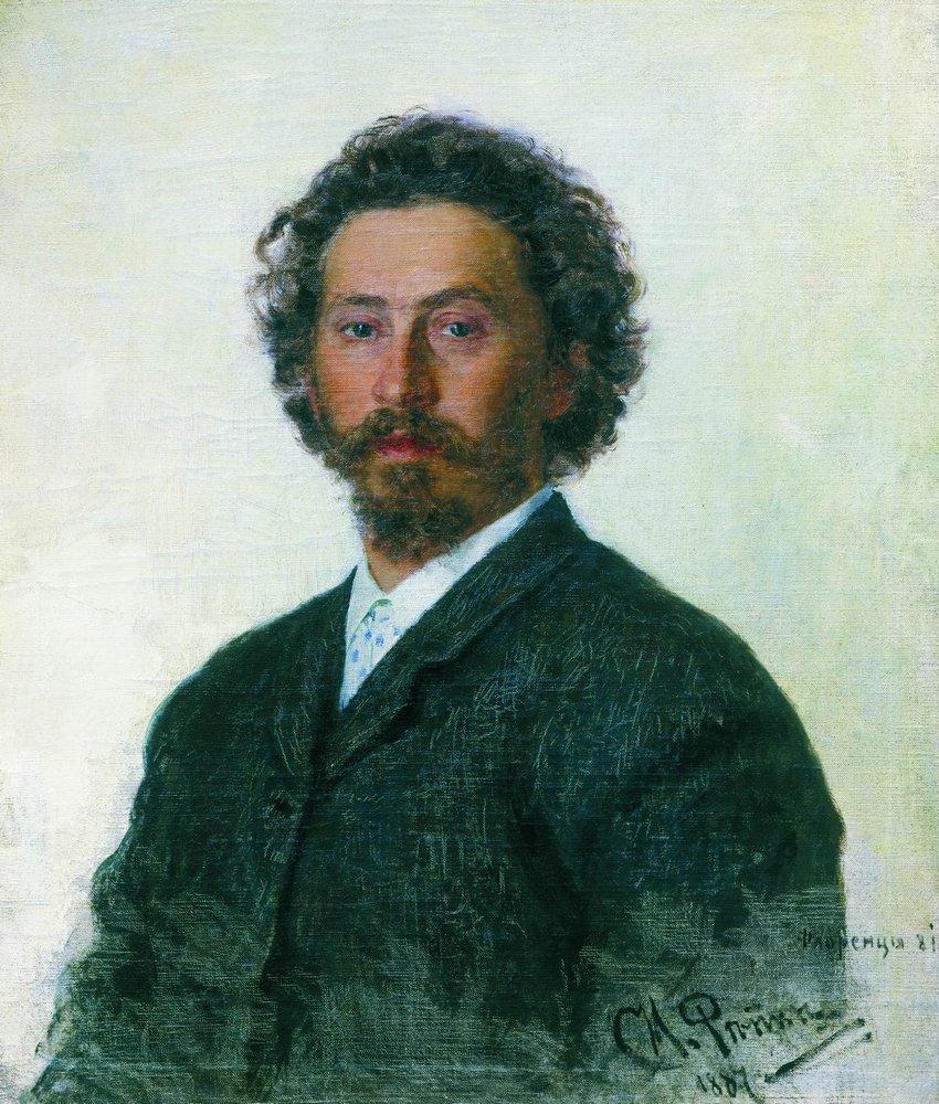 Илья Репин (Ilya Repin), Автопортрет
