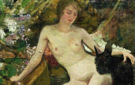 Илья Репин (Ilya Repin), Натурщица