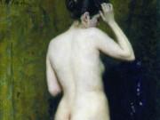 Илья Репин (Ilya Repin), Обнаженная натурщица (со спины)