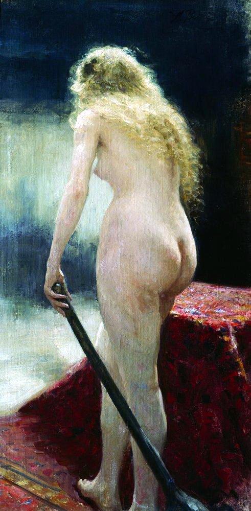 Илья Репин (Ilya Repin), Натурщица (2)