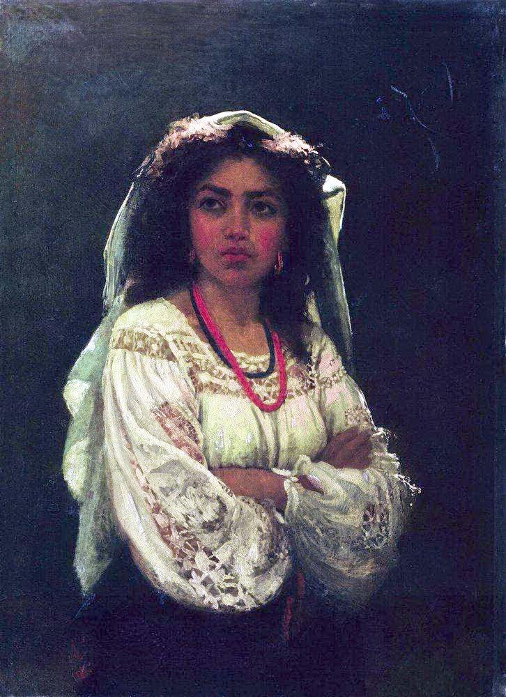 Илья Репин (Ilya Repin), Итальянка