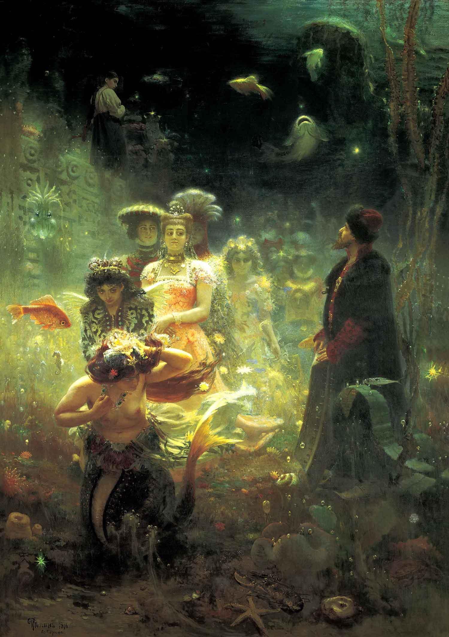 Илья Репин (Ilya Repin), Садко