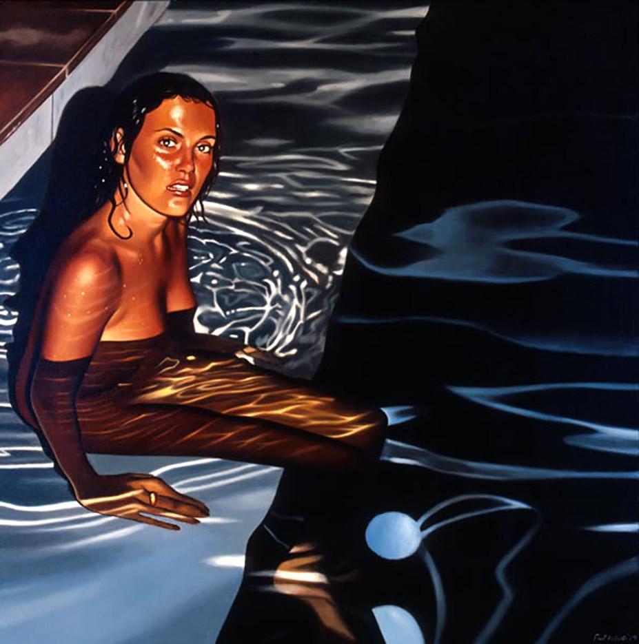 "Пол Робертс (Paul Roberts), ""Night Pool"""